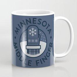 Minnesota Middle Finger Coffee Mug