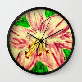 Mother Lily Wall Clock