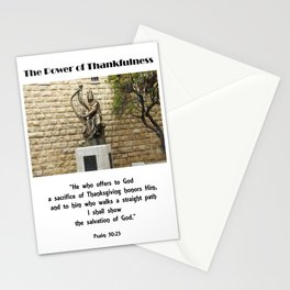 Power of Thankfulness Stationery Cards