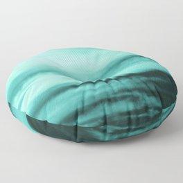 Mint-Green Ocean Vibes #1 #decor #art #society6 Floor Pillow
