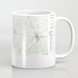 TX McKinney 118149 1985 topographic map Coffee Mug