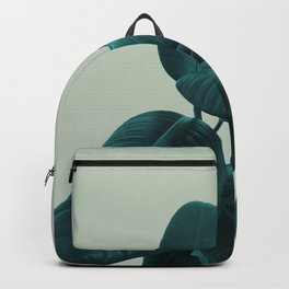 Ficus Elastica #8 #GreenLily #decor #art #society6 Backpack