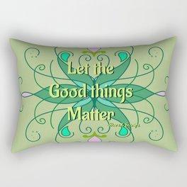 Self-Love Quote Rectangular Pillow