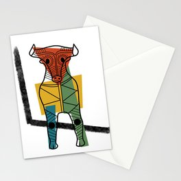 Minoan Bull Stationery Cards
