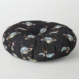 Saturn Disco Floor Pillow