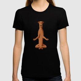 Meditating Irish Terrier Dog T-shirt
