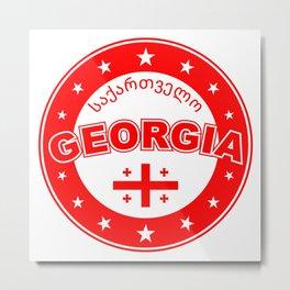 Georgia country, საქართველო, Sakartvelo, Metal Print