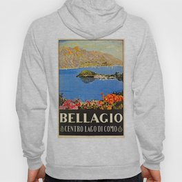 Italy Bellagio Lake Como Hoody