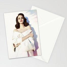 La-na del rey Music Silk Poster Frameless Stationery Cards