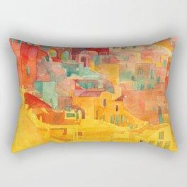 Summer on Mykonos Rectangular Pillow