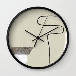 Circle & Lines Wall Clock