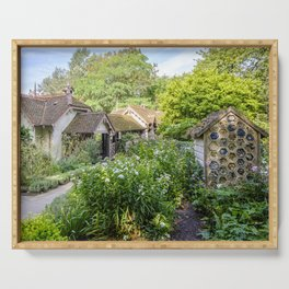 The Duck Island Cottage Garden, St James's Park in London   Color   Travel Photography   Photo Print   Art Print Serving Tray