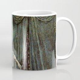 """""""The Beauty Asleep"""" by Edmund Dulac Coffee Mug"""