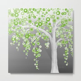Summer Shower Tree Metal Print