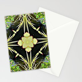 Diamond Centered Patience Stationery Cards