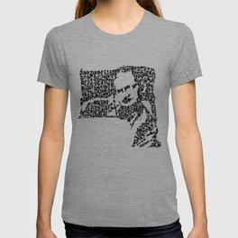 Kanji Calligraphy Art :man's face #5 T-shirt