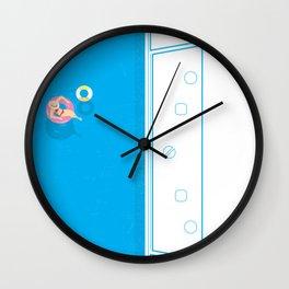 Music Pool Wall Clock