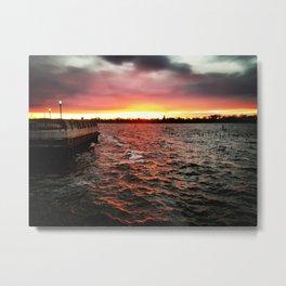 iDeal - Firewater Metal Print