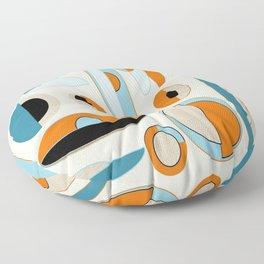 Mid-Century Art 2.4 Floor Pillow
