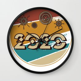 New Year 2020 New Year's Eve New Year gift party Wall Clock