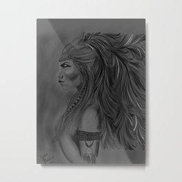 Warrior Metal Print