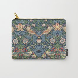Strawberry Thief - Vintage William Morris Bird Pattern Carry-All Pouch