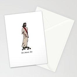 Jesus on a Skateboard Stationery Cards