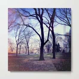 Wake Up In Your Dream World Metal Print