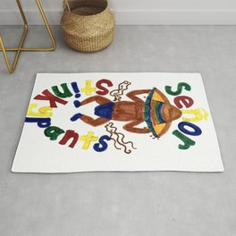 Senor Stinkypants Rug
