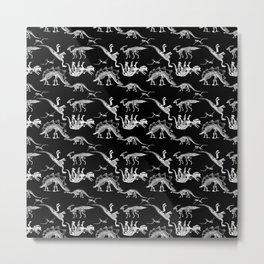 JURASSIC FASHION PARADE Metal Print