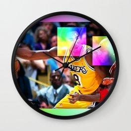 His Next Frontier Wall Clock