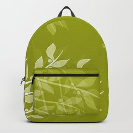 Mistletoe Pattern Backpack