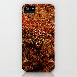 AlienPattern iPhone Case