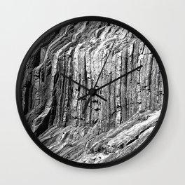 Flowing Cliffs Wall Clock