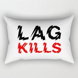 Lag kills Rectangular Pillow