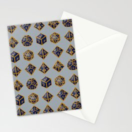 Dungeon Master Dice Stationery Cards