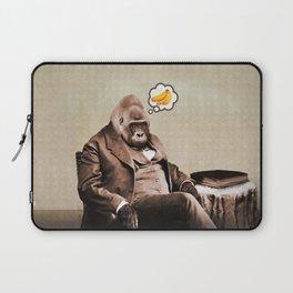 Gorilla My Dreams Laptop Sleeve