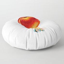 Peach Girl Floor Pillow
