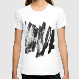 black on white 2 T-shirt