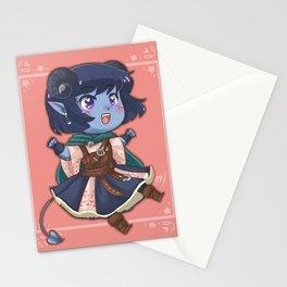 Chibi Jester Stationery Cards