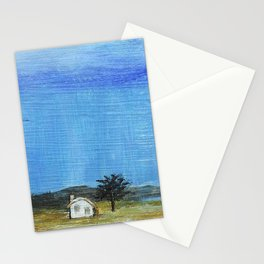 A Perfect Storm, Abstract Landscape Art Stationery Cards