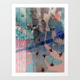 Look Around: A vibrant abstract design by Alyssa Hamilton Art  Art Print