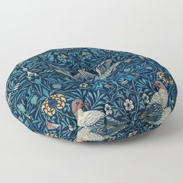 Birds by William Morris (1834-1896) Floor Pillow