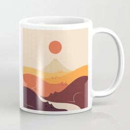 Cat Landscape 87 Coffee Mug