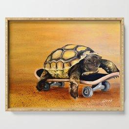 Skateboard Turtle Serving Tray