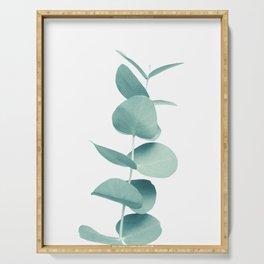 Eucalyptus Green Vibes #1 #foliage #decor #art #society6 Serving Tray