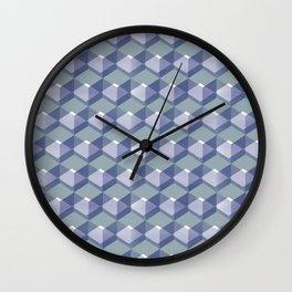 Cube Series #2 Wall Clock