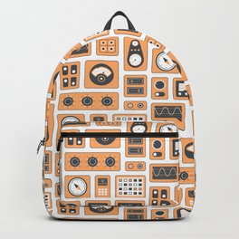Mission Control - Orange & Black Backpack