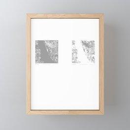 Liverpool Figure Ground Framed Mini Art Print