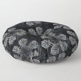 Flocons de Neige Floor Pillow